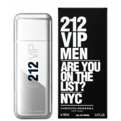 212 VIP MEN EAU DE TOILETTE SPRAY par Carolina Herrera - 100ML