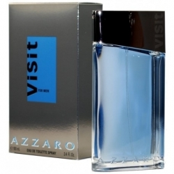 VISIT FOR MEN EAU DE TOILETTE pour HOMME de Azzaro - 100ML