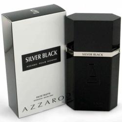 SYLVER BLACK EAU DE TOILETTE pour HOMME de Azzaro - 100ML