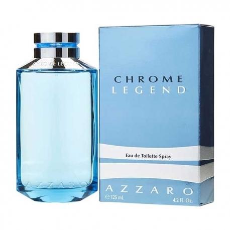 Legend De Azzaro Eau Toilette Pour 125ml Chrome Homme 6v7gYfby