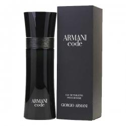 ARMANI CODE EAU DE TOILETTE pour HOMME de Giorgio Armani - 75ML
