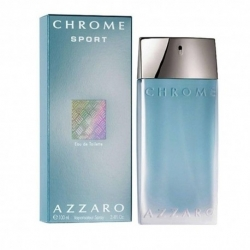 CHROME SPORT EAU DE TOILETTE SPRAY par Azzaro - 100ML