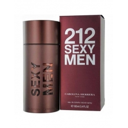212 SEXY MEN EAU DE TOILETTE SPRAY par Carolina Herrera - 100ML