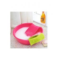 Lavoir à linge avec planche à laver