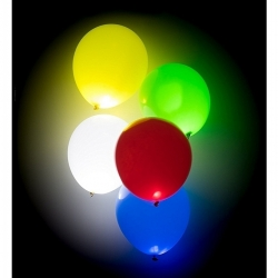Ballons lumineux LED Multi-couleur (lot de 5)