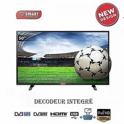 TV LED 50″ -STT-9050- FULL HD 1920 X 1080 – HDM / USB – Décodeur Intégré – Garantie 12 Mois