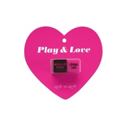JEU DE DES PLAY & LOVE - ACTION COQUINE