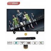 "TV LED 24"" Ultra Slim - Décodeur Intégré - HDMI/USB/VGA/- Noir Référence: STT- 9024"
