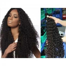 Meche Cheveux Humain bouclé longueur 18 - Type bresilienne - curly brazilian human hair longueur 18.