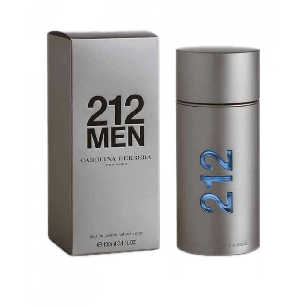991362a43fb294 Parfum Homme 212 Men - Eau de Toilette (100ml) - AFRIKDISCOUNT