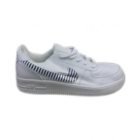 Chaussure Basket Basse Homme Air - Blanc