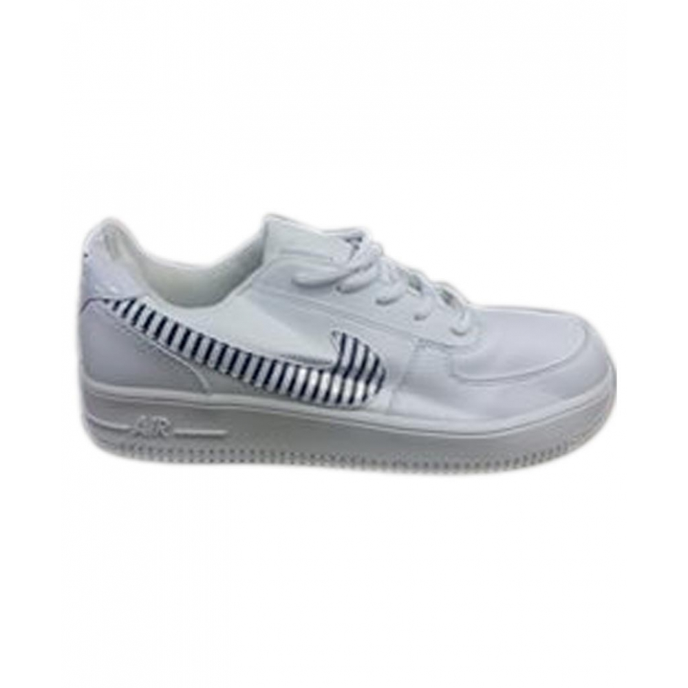 Chaussure Homme AFRIKDISCOUNT Blanc Air Basket Basse vwCvqxTRg