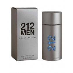 212 Men - Parfum Homme Eau De Toilette - 100Ml - Carolina Herrera