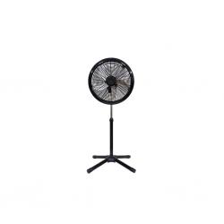 CROWN Ventilateur à pied - Diam 45.7 cm - 3 vitesses - boutons – VENT_EK-1820