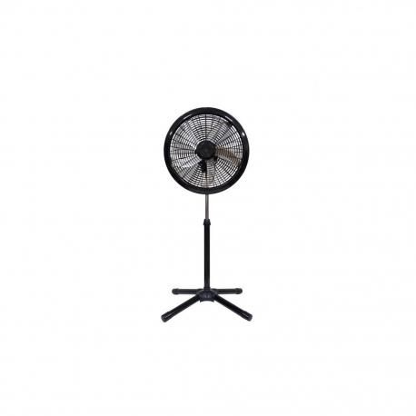 CROWN Ventilateur à pied - Diam 45.7 cm - 5 vitesses - boutons – VENT_EK-1820