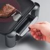 Severin - 2388 - Gril de table - 2200 W - plaque de cuisson en fonte - noir