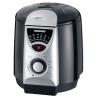 Severin - 2408 - Mini friteuse fondue - 840 W - 950 ml - 6 fourchettes à fondue - noir/argent