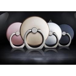 Bague support anneau rond pour smartphone - Noir
