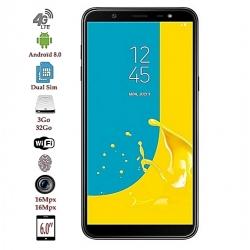 """Samsung Galaxy J8 - 6.0"""" - 4G- 16Mpx- 32Go/3Go Ram"""