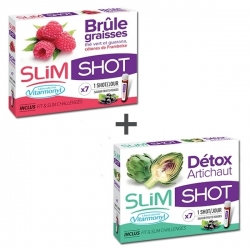Pack minceur - SlimShot Détox + Brûle Graisse