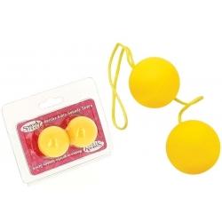 Boules De Geisha Spoody Neon Jaune - 3,2cm -