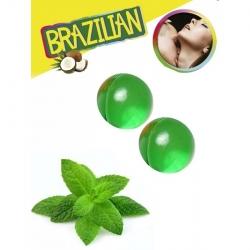 Boules Bresiliennes Saveur Menthe X2