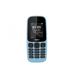 Téléphone Nokia Dual SIM - Design Classique - 1,5 Pouce – Bleu