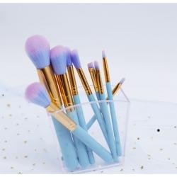 Kit de 9 Pinceaux Bleu fantasy