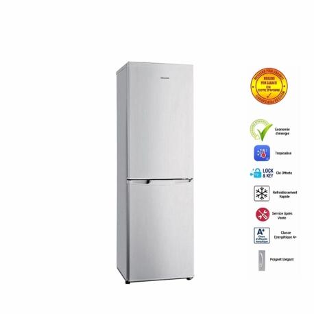 HISENSE Réfrigérateur Combiné - 262 litres - Classe A+