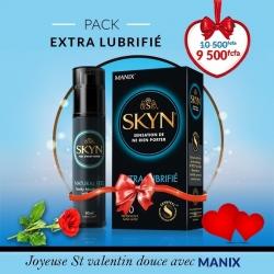 Manix Pack Skyn Extra Lubrifié