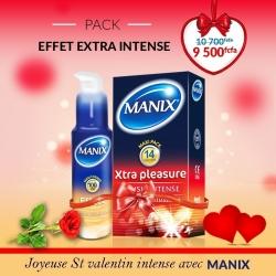 Manix Pack Effet Extra Intense
