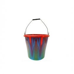 Seau Plastique - 15 Litres - Multicolore - Tajplast
