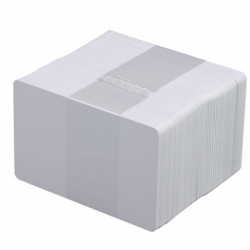 Carte PVC Blanche 0.76mm par 500 -
