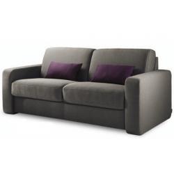 Canapé CLICHY 2 places + 2 coussins - moelleux et agréable - Sur commande