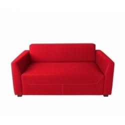 Canapé TICO 2 places + 2 coussins - original design - sur commande