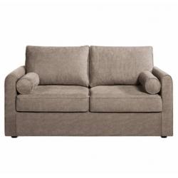 Canapé DOUM 2 places + 2 coussins - bien moelleux - sur commande