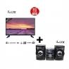 PACK iLUX - TV iLUX 32'' + CHAINE HIFI (M-381/200W) - PITVCH-01