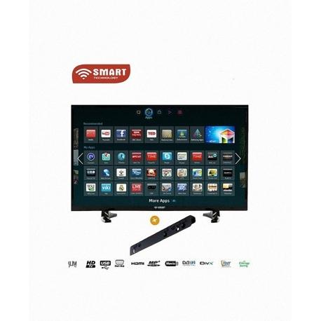 "Smart TV LED 40""- STT-9040S- Wfi-HDM / USB/VGA- Noir"