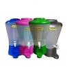 Pack De 4 Distributeurs De Boissons - 9 Litres - Plastique - Tube à Glace - Rose - TAJPLAST