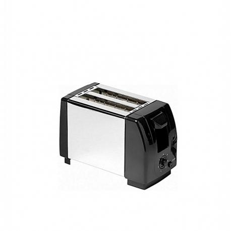 iLUX Toaster LX-0210ST - Grille Pain - 2 Fentes - 700W - Inox