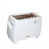 iLUX Toaster LX-0200WT - Grille Pain - 2 Fentes - 700W - Blanc