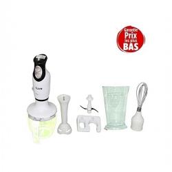 iLUX Mixeur Plongeant Multifonctions LX-05 - 700 Ml - Blanc