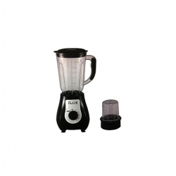 iLUX Blender 2 En 1 LX-730 - 1.5 Litres - 350W - 5 Niveaux De Vitesse - Noir - Garantie 3 Mois