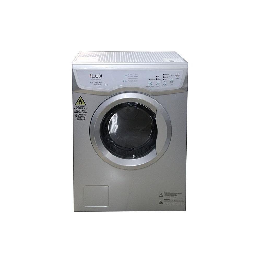 ilux sèche-linge automatique - lxd7010s 7kg - gris - afrikdiscount