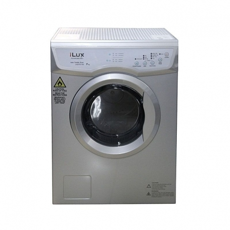 iLUX Sèche-Linge Automatique LXD7010S 7kg - Garantie 6 Mois