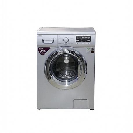 iLUX Machine à Laver 8 Kg LXW8012S - Automatique - Economie D'énergie - Gris - Garantie 6 Mois