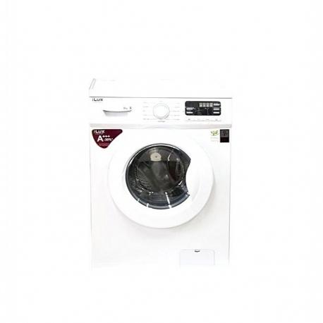 iLUX Machine à Laver - LXW8012W - 8Kg - Automatique - Economie D'énergie - Blanc