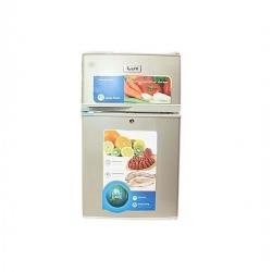 iLUX Réfrigérateur 2 Battants - ILR90 - 90 Litres - Gris - 6 Mois Garantie