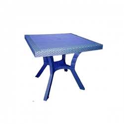 Table Royale en plastique - BLEU - TAJPLAST
