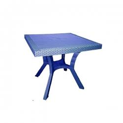 Table Royale en plastique - BLEU - TAJPLAST